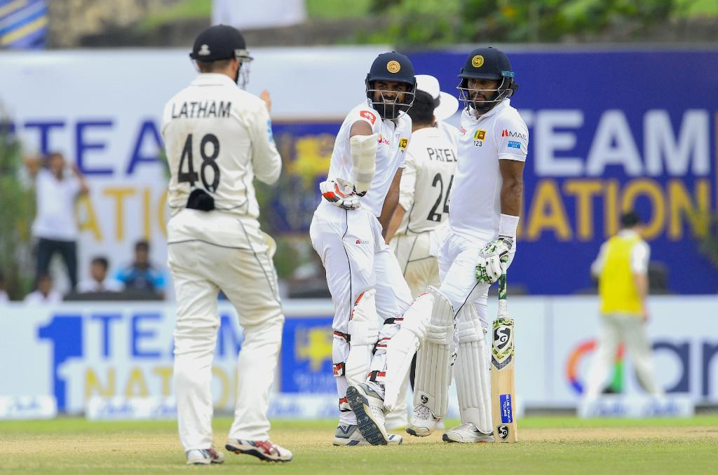 Stumps at Galle! A wonderful partnership between Karunaratne and Thirimanne see Sri Lanka finish the day 133/0. They require 135 runs to win the first Test against New Zealand tomorrow.