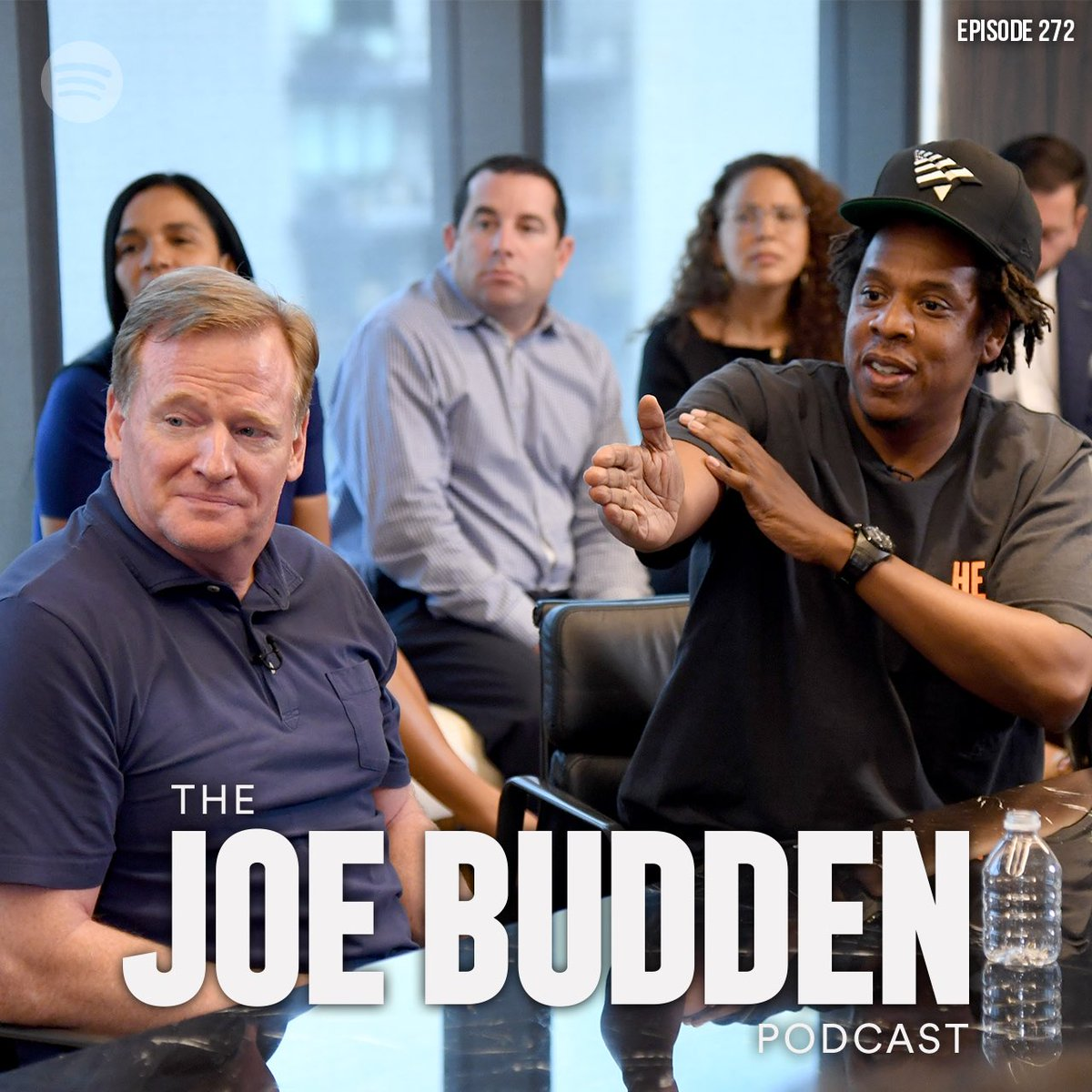 """The @JoeBudden Podcast Episode 272 """"Chummy Chummy"""" is available now! Stream exclusively on @Spotify LISTEN HERE 🎧: open.spotify.com/episode/40IOKq…"""