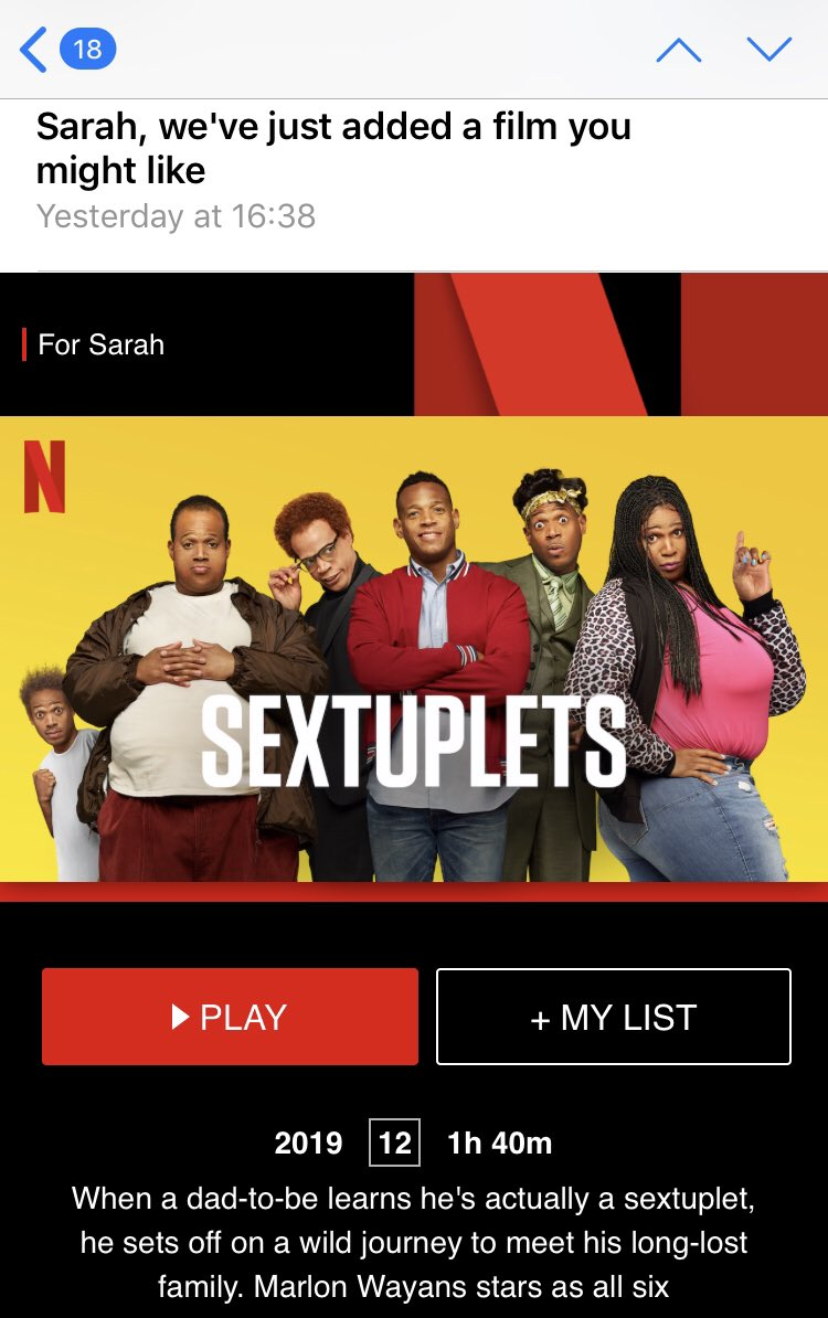 What did I do to hurt you, Netflix?