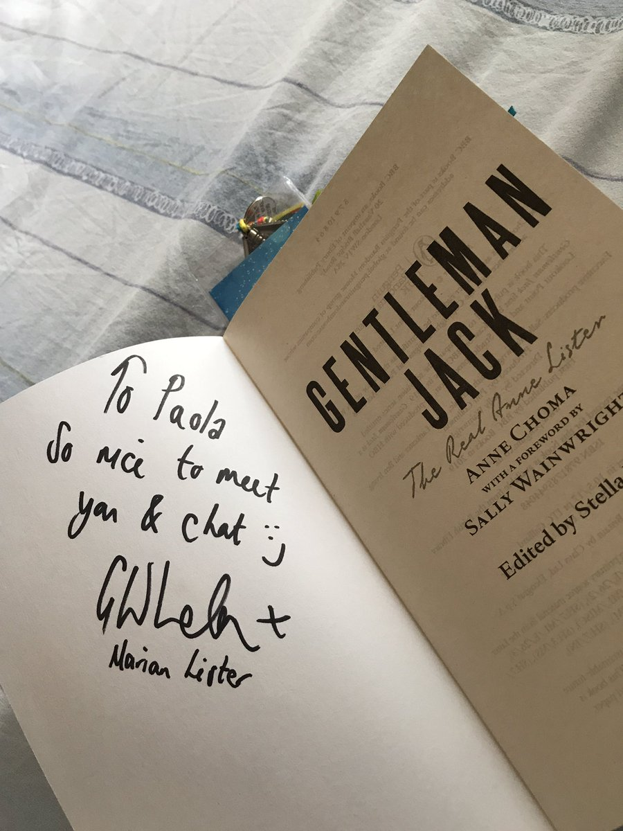 I'm totally fine with your dedication on Gentleman Jack's book, at the LFCC (thank you!)  But have fun with all that boobs signing! <br>http://pic.twitter.com/PNWfcqw3qL