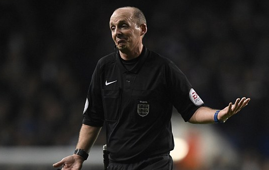@paddypower's photo on Mike Dean