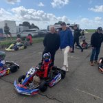 It's the weekend so time for some karting with Dave Boyce and @jackdoohan33 for some driving tips for Dayton