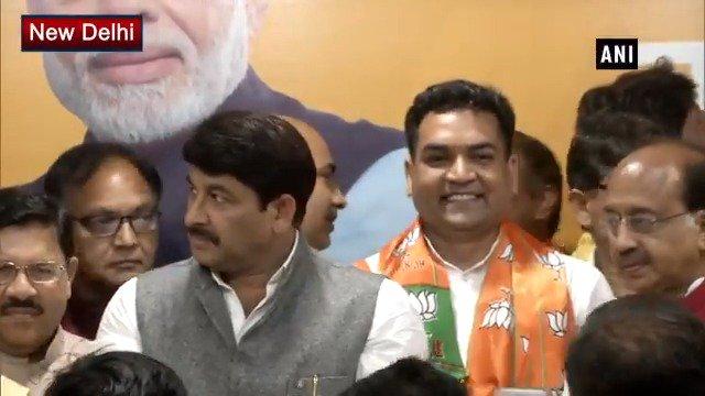 #Delhi: Rebel #AAP leader #KapilMishra joins #BJP http://bit.ly/2YTXEKl