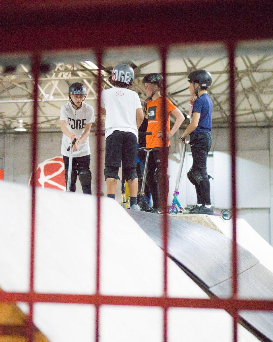 Rampworx Skatepark Supreme Scooter Griptape Scooters, hoverboards Steps