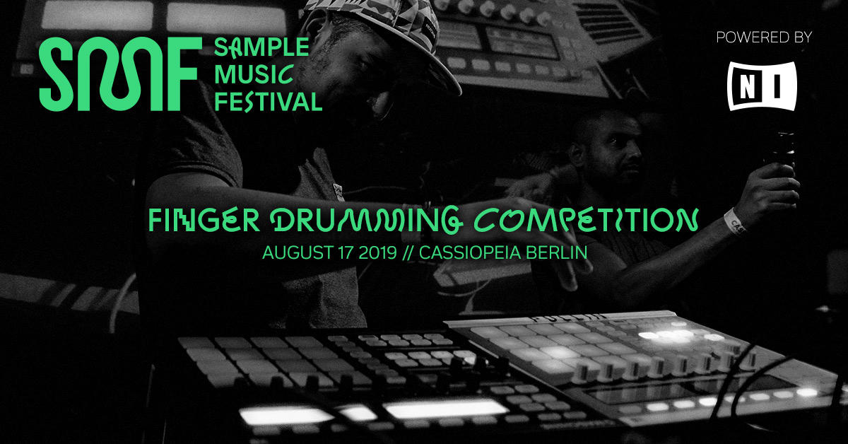 If you're in #Berlin today, join us at #SampleMusicFestival for a #fingerdrumming competition at cassiopeia Find more info here:  http://www. samplemusicfestival.com    <br>http://pic.twitter.com/A3BA0qxdhf