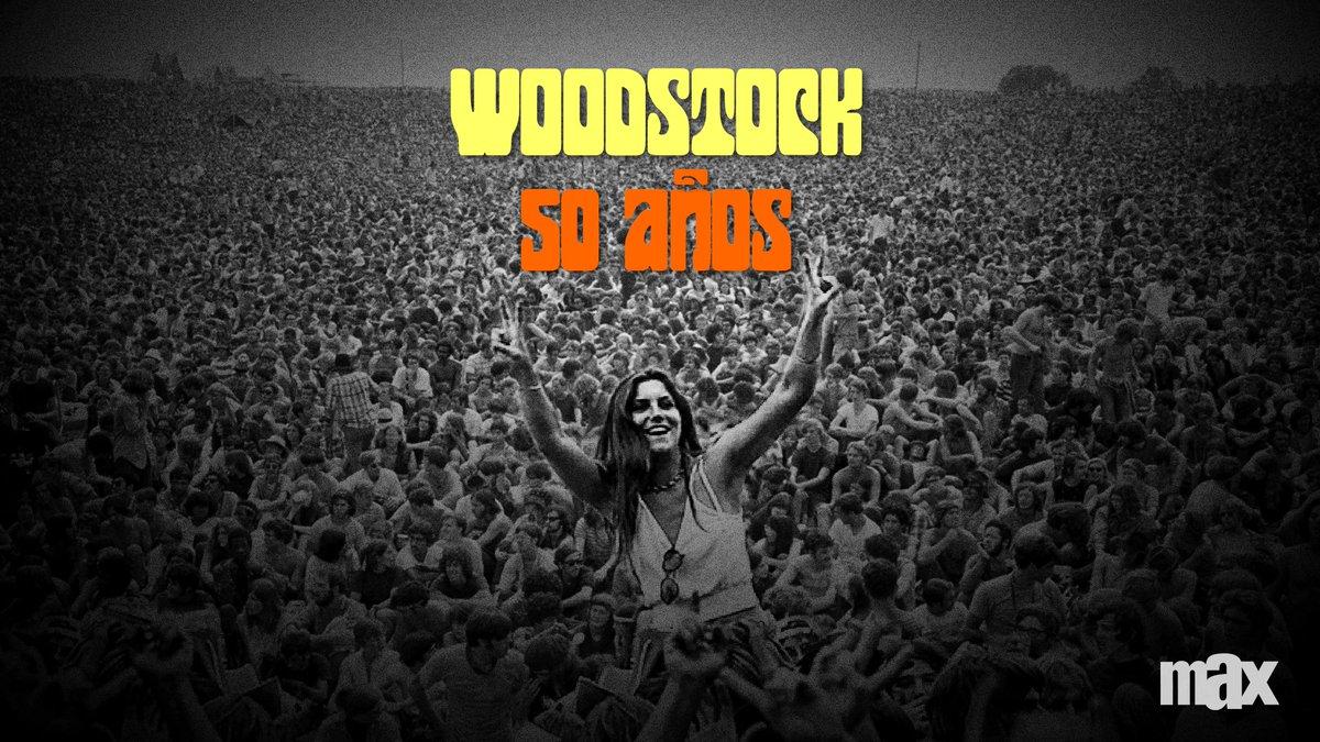 Hoy celebramos el 50º aniversario de la celebración de paz, música y amor más recocida del mundo y la inspiración detrás de todos los festivales musicales que conocemos.  #Woodstock.