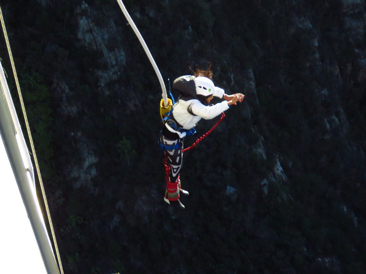 """pinkygirl 🇿🇦 on twitter: """"my first bungy jump experience"""