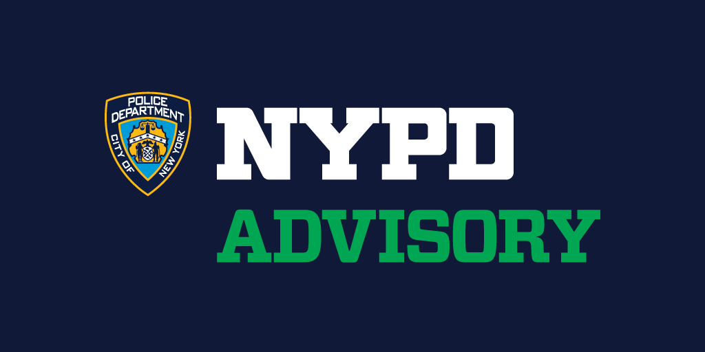 ADVISORY: Today, from 6AM to 9AM there will be an emergency exercise in the vicinity of St. Patrick's Cathedral in Midtown, Manhattan.   50th street between 5th ave & Madison Ave will be closed to vehicular traffic. Use alternate routes and expect to see emergency personnel.