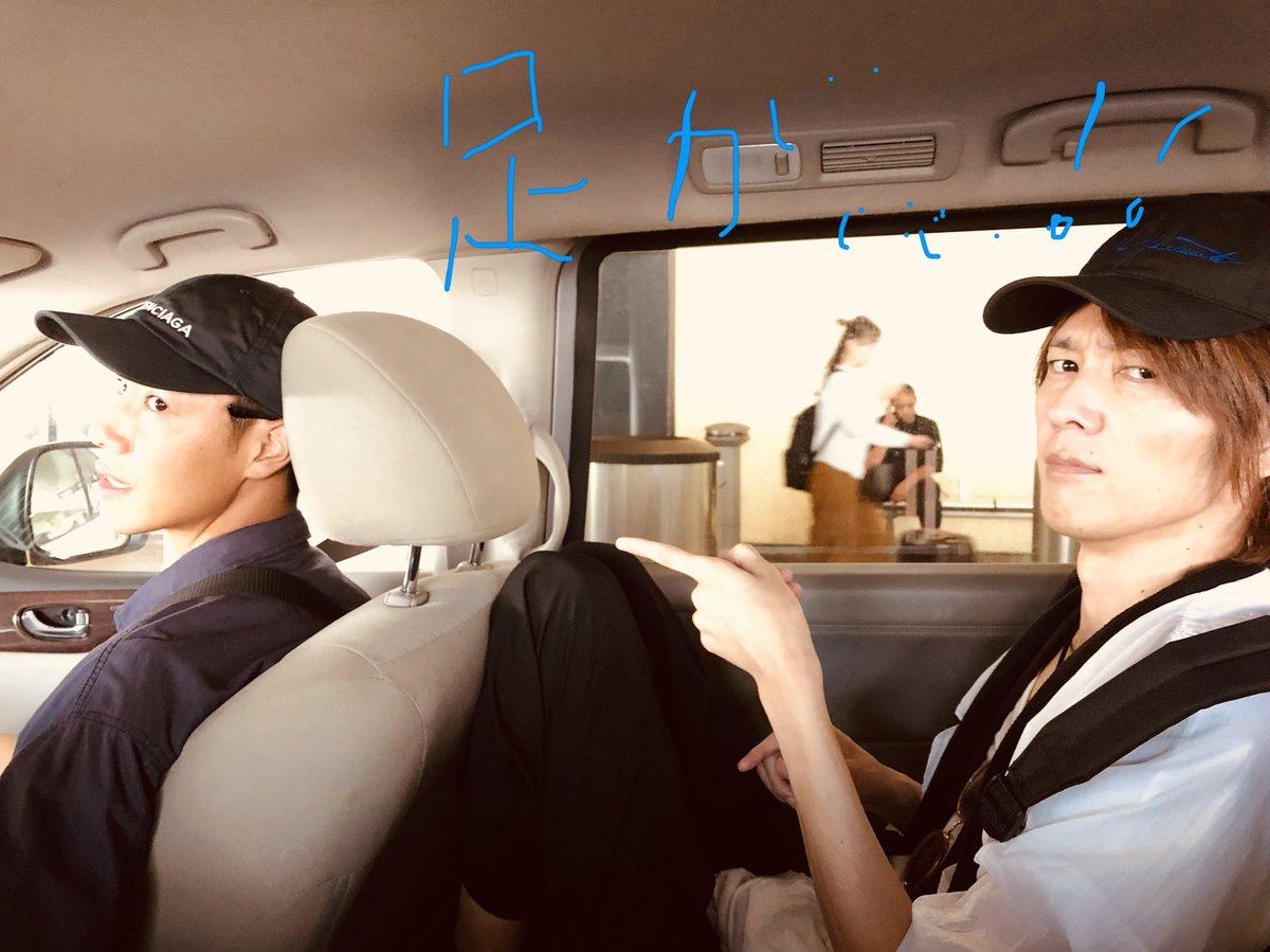 デカレッドvsブレイド    ?!  (΄◉◞౪◟◉`) 座席での戦い笑笑 #仮面ライダー剣#特捜戦隊デカレンジャー #さいねい龍二 #ロサンゼルス #特撮#tokusatsu #車#hero #スーパーヒーロータイム