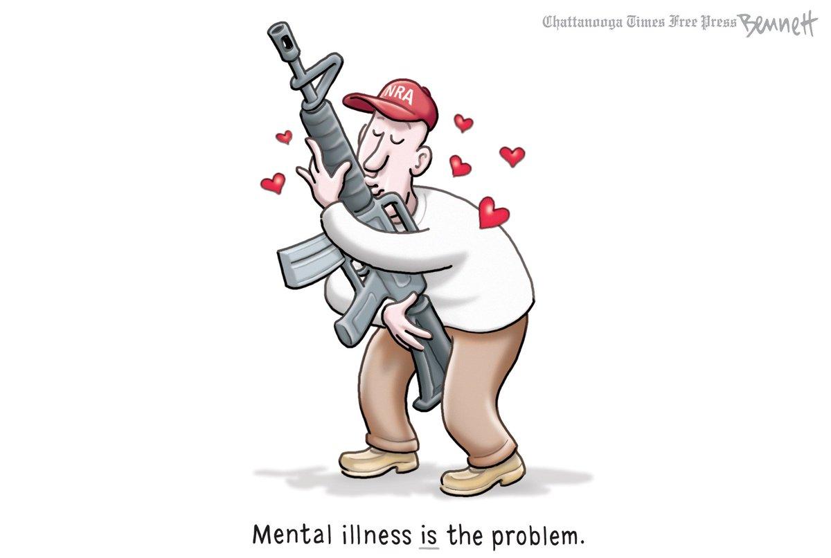 8/17/2019- The Problem #GunViolence #MassShootings #MassMurder #NRA #NationalRifleAssociation #GunEnthusiast #mentalhealth #MentalIllness https://tinyurl.com/yxcuhwux