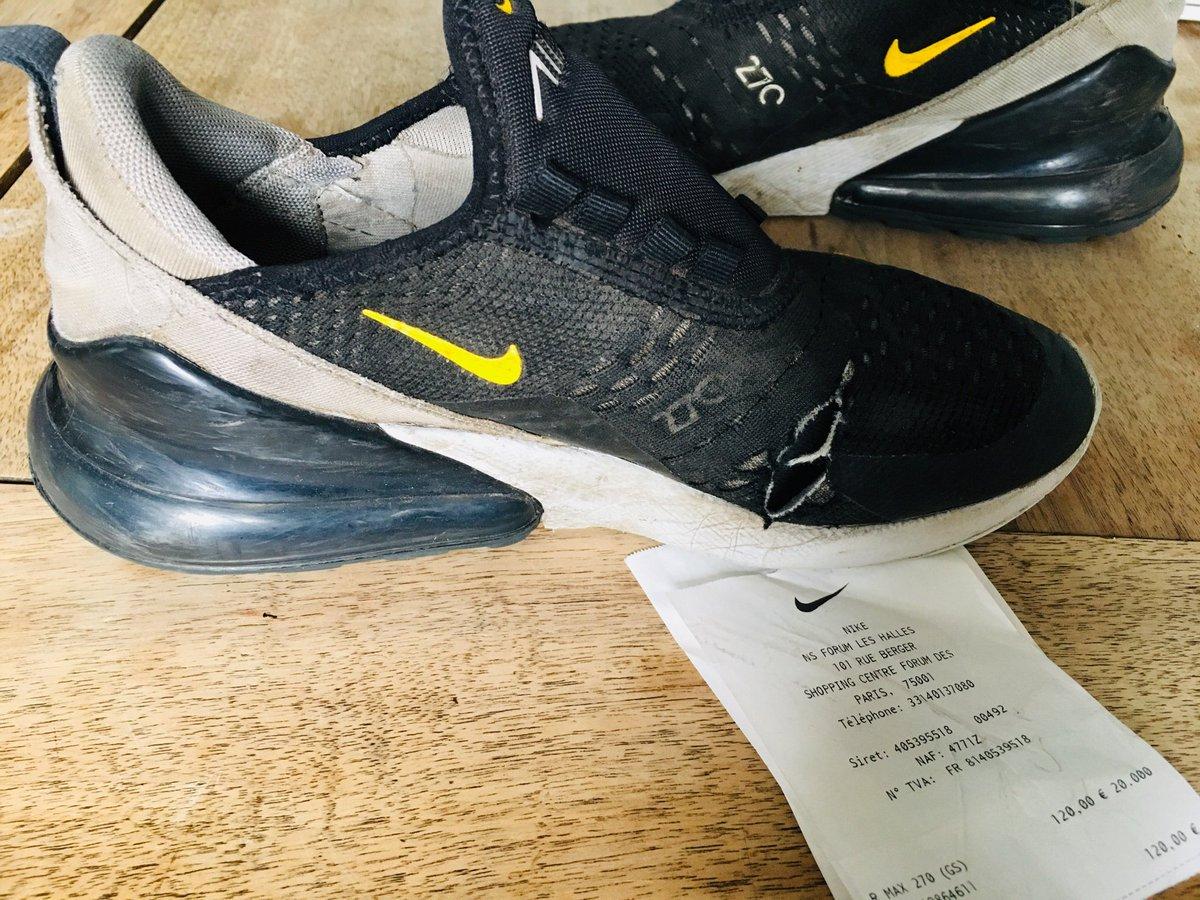 Nikestore restock tweet