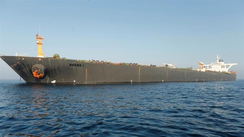 US issues warrant to seize Iranian oil tanker Grace 1 aje.io/d5s8m