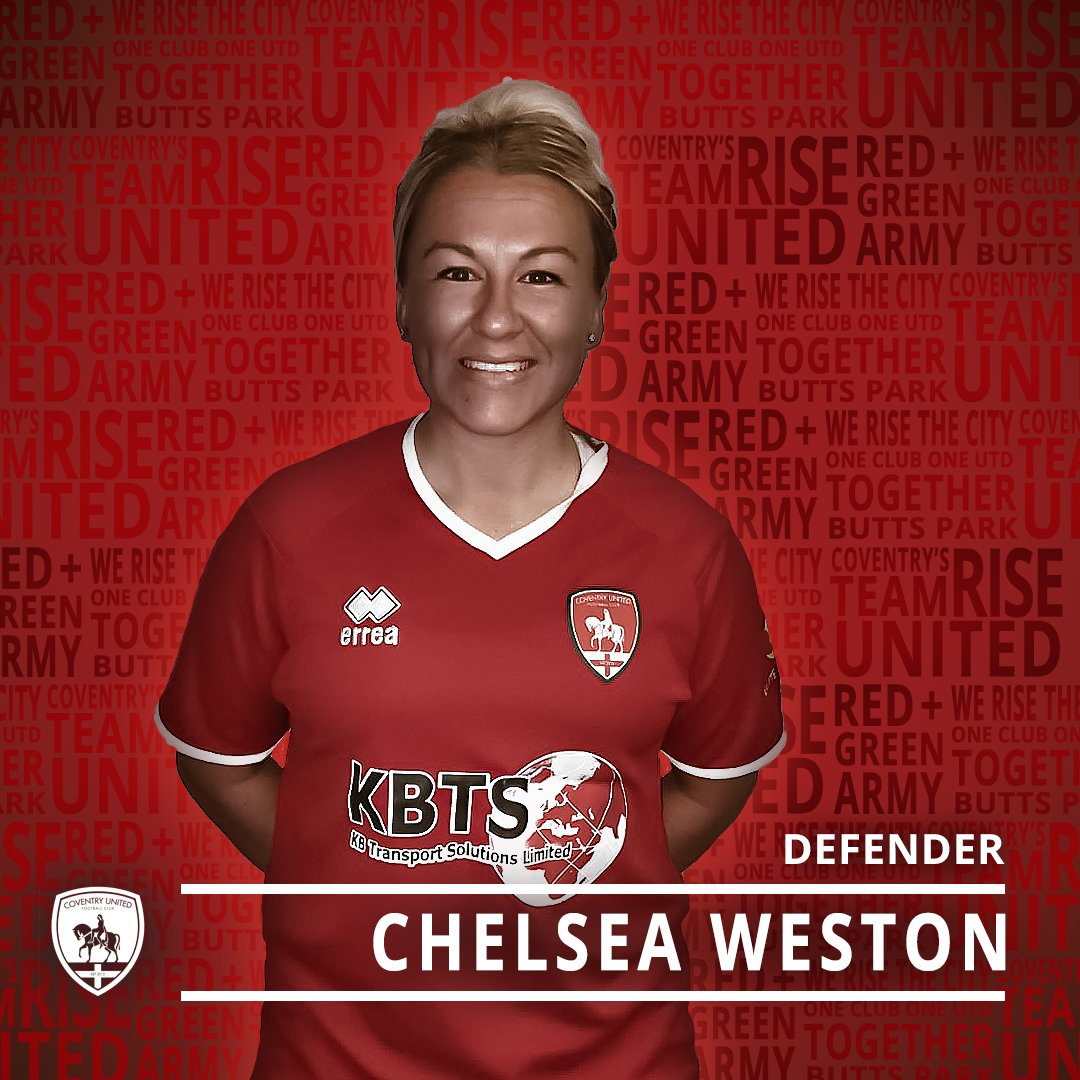 🚨NEW SIGNING I ✍️A welcome return to championship football were excited to announce Chelsea Weston has joined the ❤️➕💚 A versatile player with unrivalled experience, the ex-England youth international & former @BCFCwomen regular, brings a distinct calibre to the team. 👏