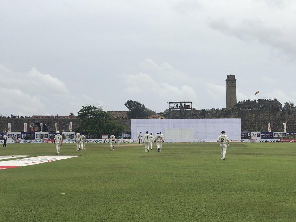 Third and final session of day 4 underway in Galle. Sri Lanka 76-0 chasing 268 to win. Patel to begin, live scoring - https://scoring.nzc.nz/livescoring/matched7893b0-b5de-4319-8fe0-a0d18bb7a4f8/scorecard.aspx… #SLvNZ