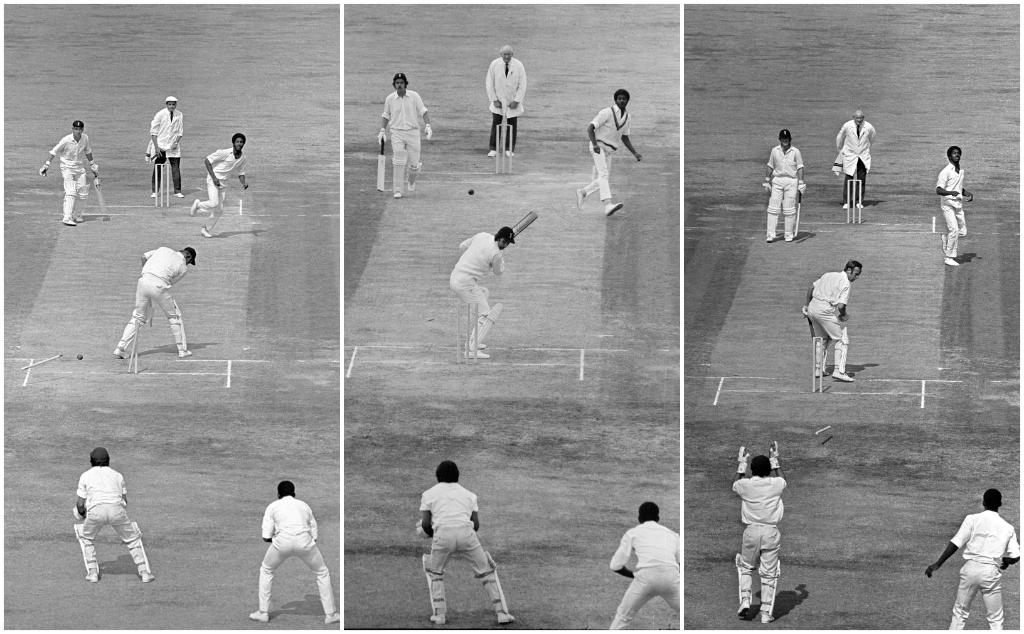 #OnThisDay in 1976, Michael Holding became the first West Indies bowler to take 14 wickets in a Test – a record that is still standing after 43 years 😱 He took 8/92 and 6/57 to wrap up a 3-0 series win against England 🙌
