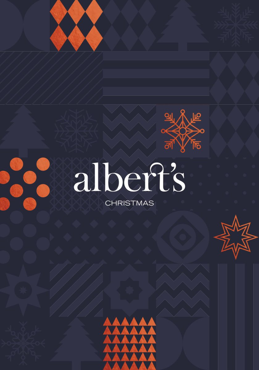 Christmas at Albert's You can locate our Christmas menus on our website: alberts-restaurants.com/christmas #albertsrestaurants #christmasiscoming #manchester #christmas2019 #albertsshed #manchesterrestaurants