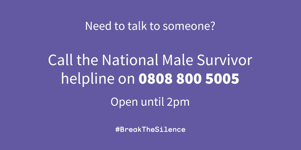 If you need to speak to someone this weekend, were here for you. Our phones are open until 2pm. 0808 800 5005 📞