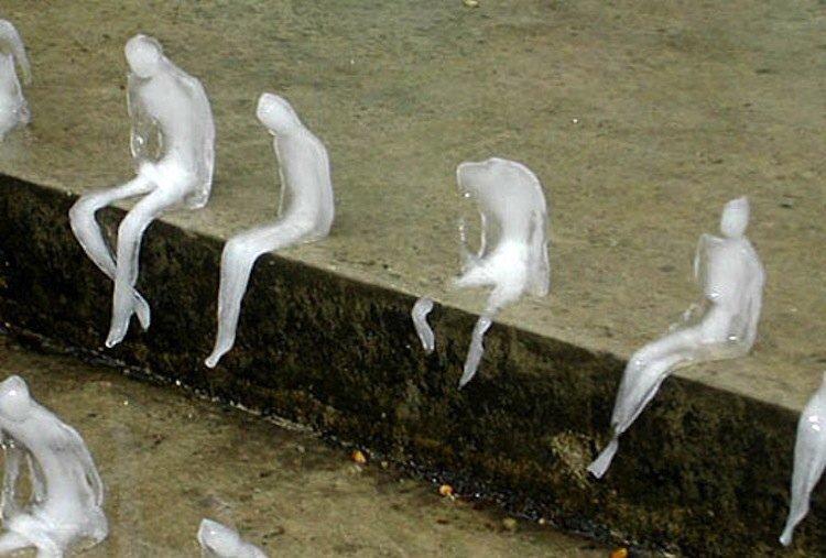 • Melting Men (Ice Sculpture) •  • © Nele Azevedo • <br>http://pic.twitter.com/ItcgZ6rA7y