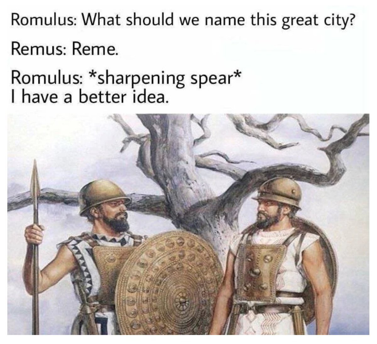 R Historymemes On Twitter Really Cool Ancient History Meme For