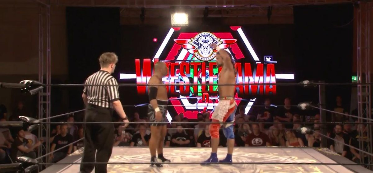 It's Sunday, August 18 in Japan! #onthisday in 2018, barely a week after meeting in the G1 Climax, Juice Robinson and Tomohiro Ishii battled it out in Ireland at @OTT_wrestling 's WrestleRama event.  Relive history with @njpwworld!  http:// ow.ly/5c5D50vzkrj     <br>http://pic.twitter.com/VW6r4PVgmV