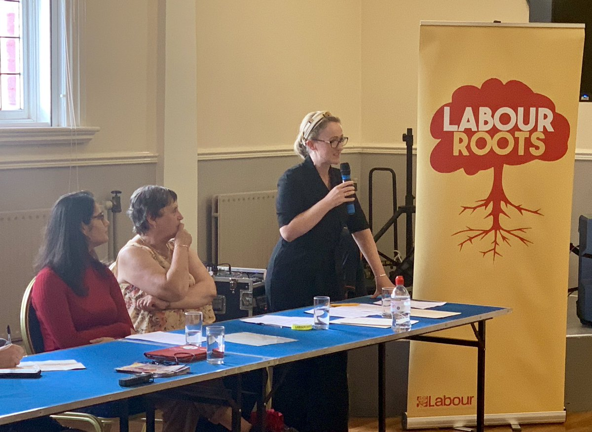 Fantastic turnout and ideas on the #GreenIndustrialRevolution roadshow here at Bolton Roots, speaking alongside Julie Hilling and the inspirational Tara Chowdhury. The time for change is now