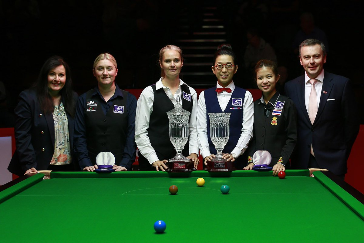 📰 REPORT | Evans is Queen of the Crucible 👑 Check out our full report after world number one Reanne Evans defeated Ng On Yee & Nutcharut Wongharuthai to win the all-new Womens Tour Championship for the first time in Sheffield. womenssnooker.com/evans-is-queen… #WomensSnooker #Cue4All