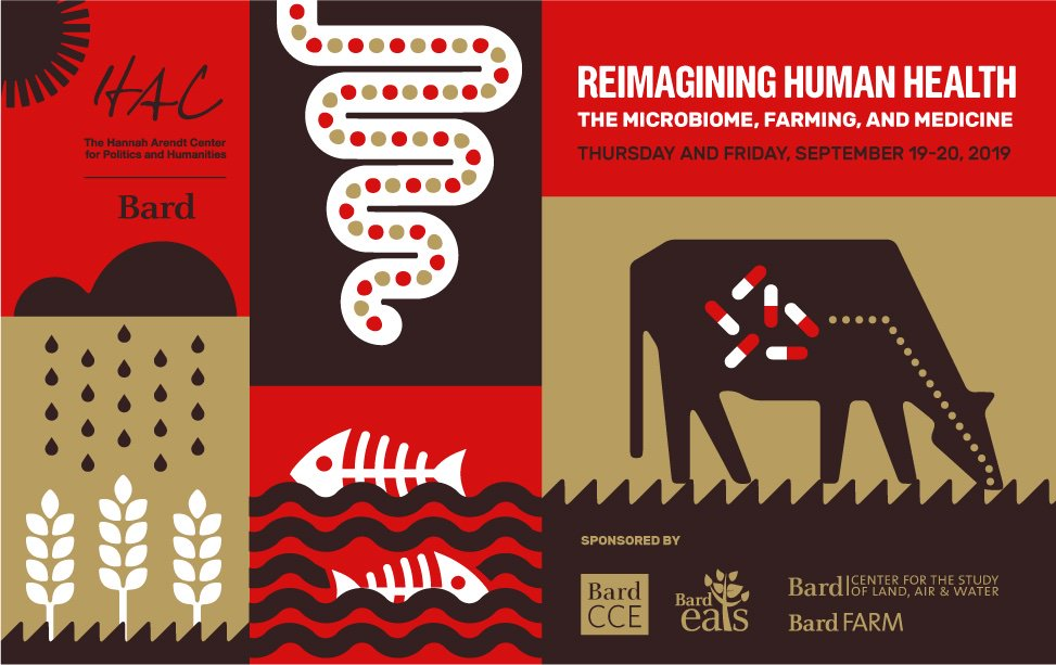 What is happening to the smallest living things on this planet? Join us for a 2 day symposium on Reimagining Human Health: The Microbiome, Farming, & Medicine hac.bard.edu/a-symposium-re…