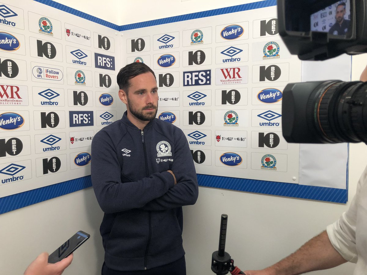 A clean sheet and three points on your league debut! 👏 @Cunningham_17 speaks to iFollow #Rovers after today's win over #Boro. #ROVvMID 🔵⚪️