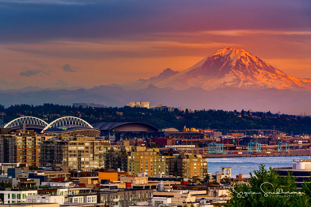 That mighty mountain towering over #Seattle #MountRainier<br>http://pic.twitter.com/GSPG3yLZ1Y