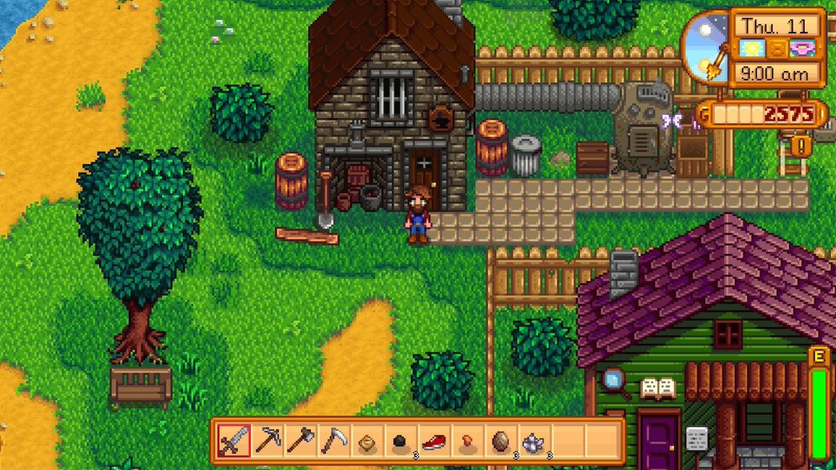 Spending most of today down in the Valley, much needed quiet time. #StardewValley #NintendoSwitch