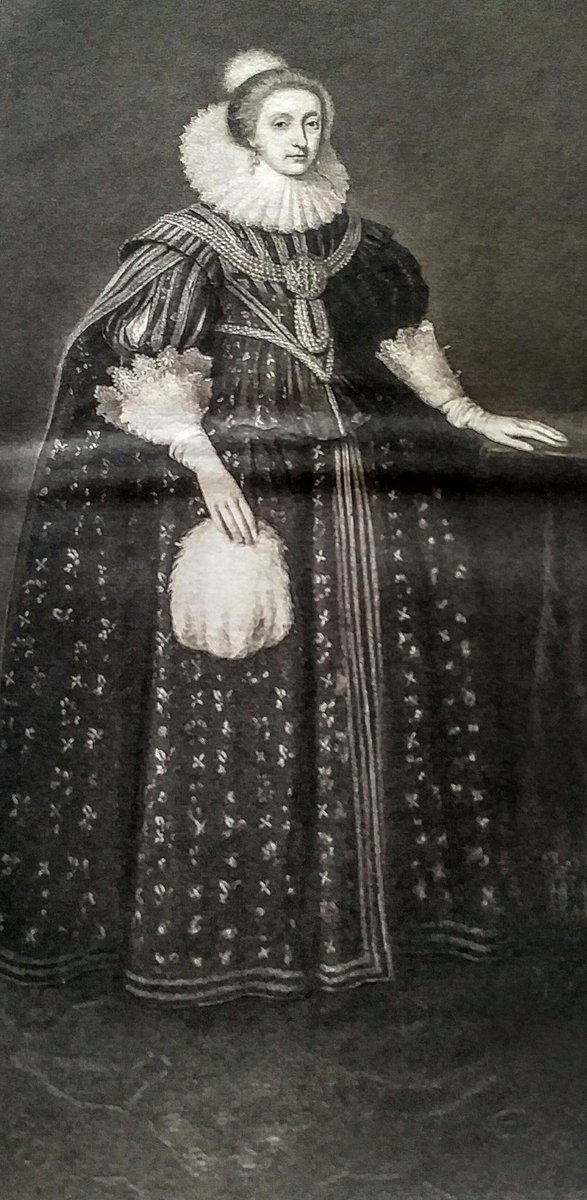Elizabeth, Queen of Bohemia,sister of Charles I mother of  Prince Rupert and Prince Maurice  (she lost two children to been drowned) https://t.co/jyC27oXyd3