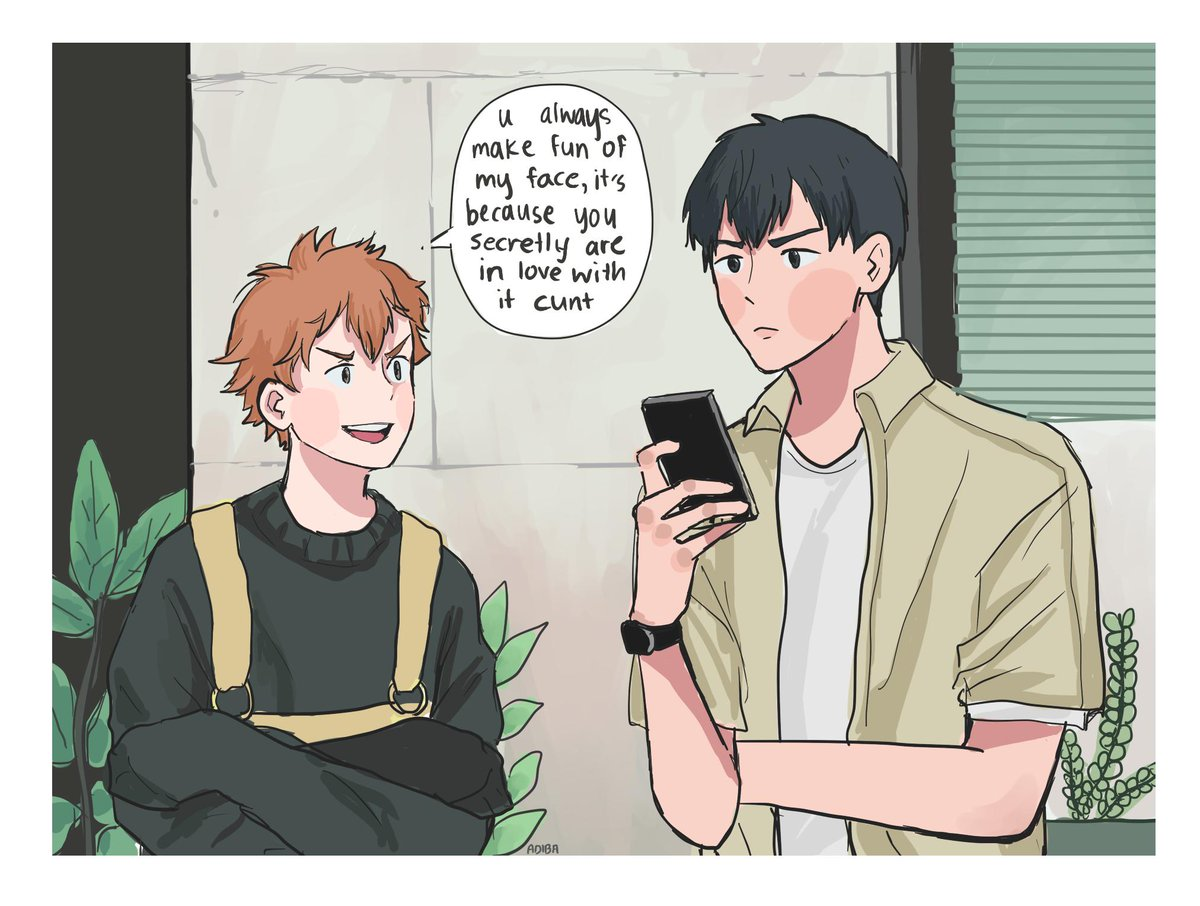 kagehina hashtag on Twitter