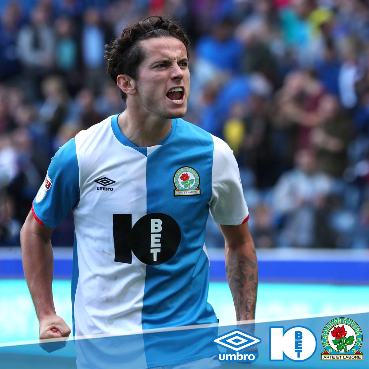 Passion! 💙👊 #Rovers #ROVvMID 🔵⚪️