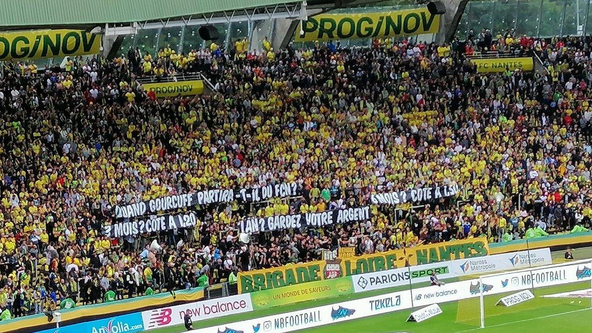 Nantes - OM (17/08/2019) Message Brigade Loire #FCNOM