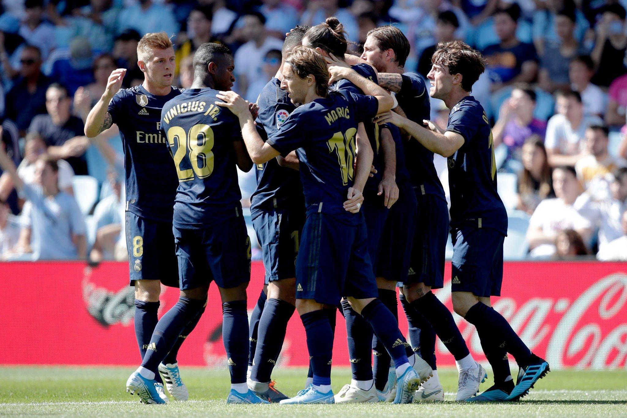 أهداف فوز ريال مدريد على سيلتا فيجو