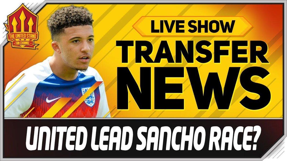 Dortmund drop Sancho Hint? Were LIVE buff.ly/2H8srbh #mufc