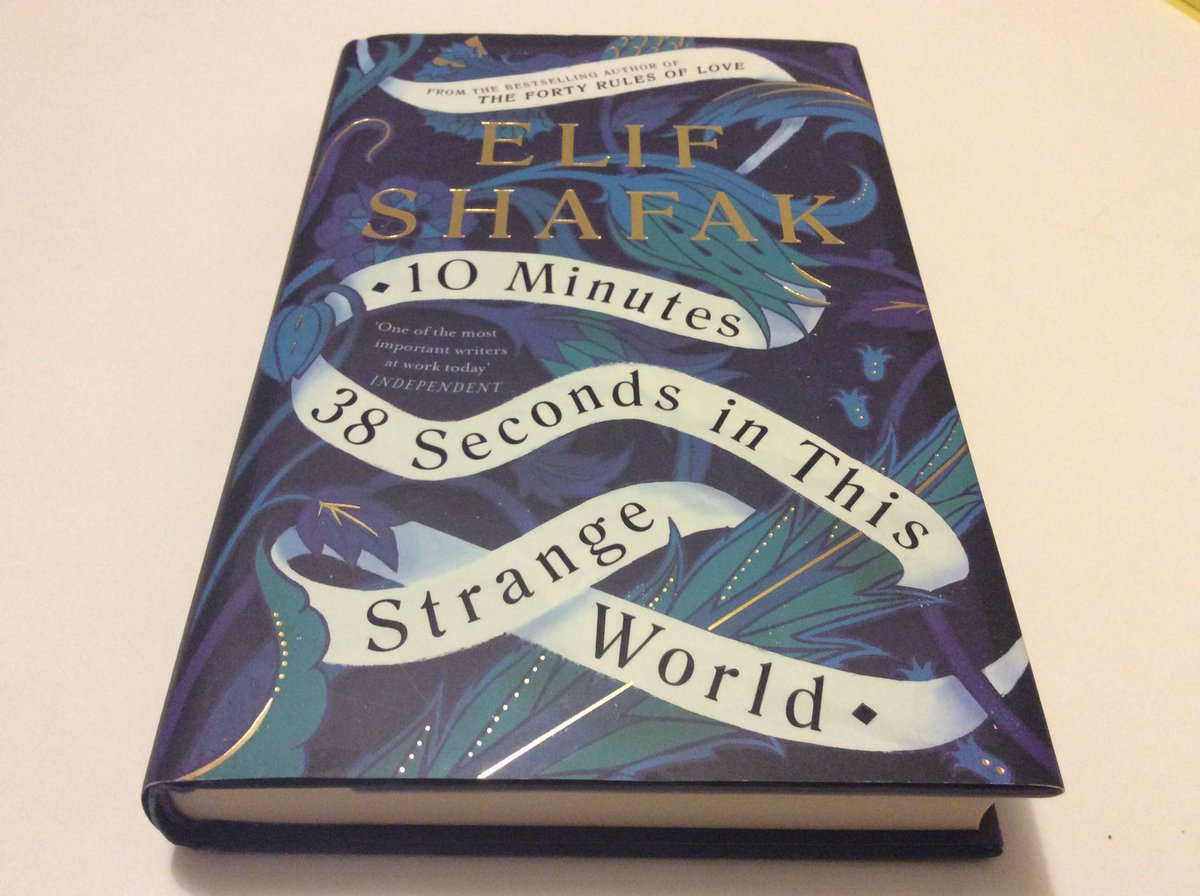 Friendship. Feminism. Solidarity. Identity. Creativity. Food. Laughter. Sadness. Misogyny. LGBTQ+ rights. Community. Conversation. And love. So much love in @Elif_Safak extraordinary new novel #10Minutes38SecondsInThisStrangeWorld Can't wait for her @McrLitFest event on 10 Oct