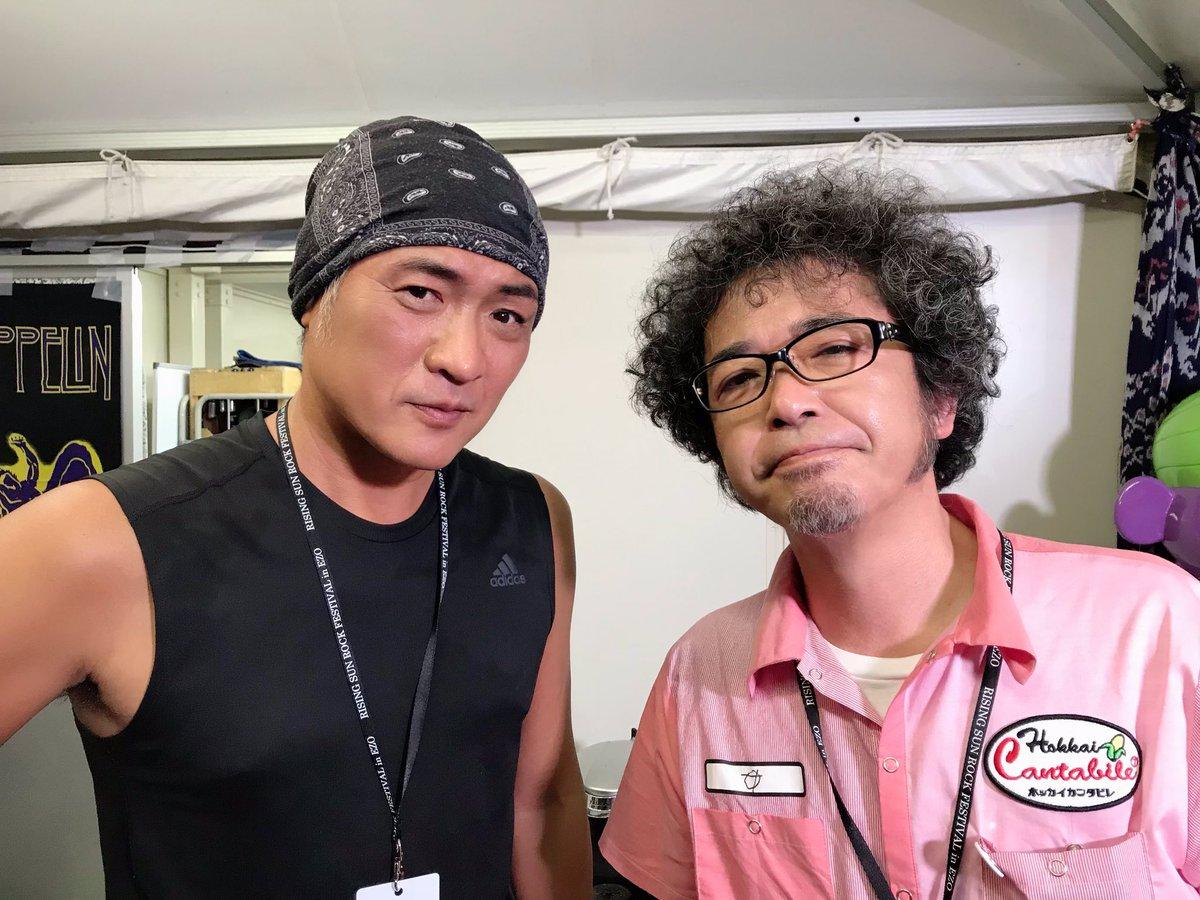 【ホッカイカンタビレ】吉川晃司さん、湊雅史さん、ウエノコウジさんにコーラス、ドラム、ベースを録音いただきました!貴重な広島弁トークもありがとうございます!#ホッカイカンタビレ#RSR19