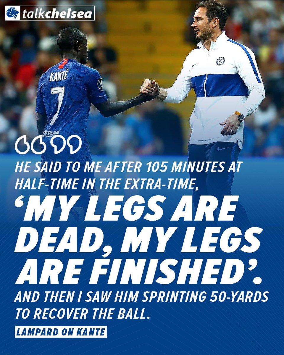 Kante is incredible. 🙌🏼💙  #CFC #Chelsea