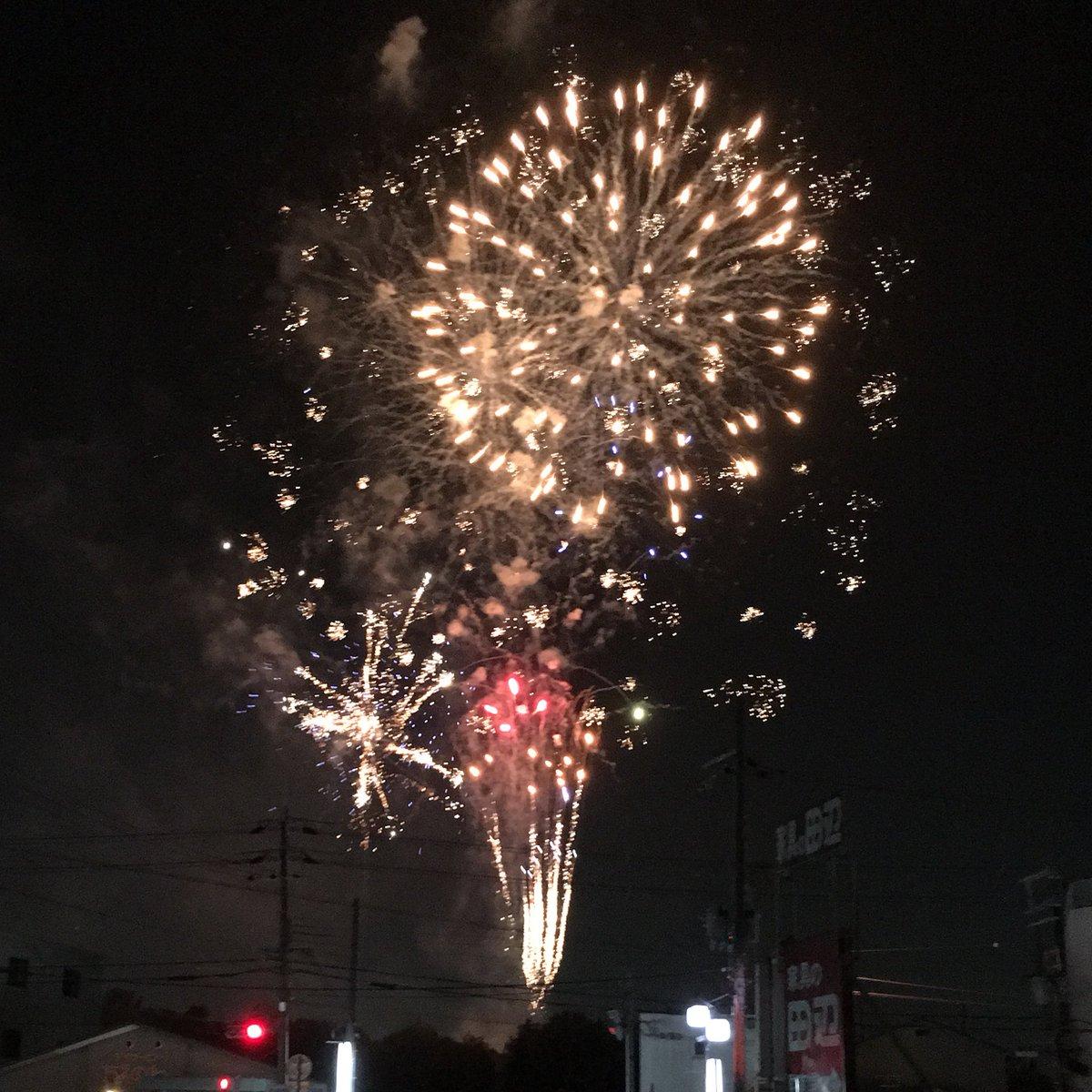 今年は花火見れた✨ 明日は淀で馬券的中の大花火を打ち上げるで!!