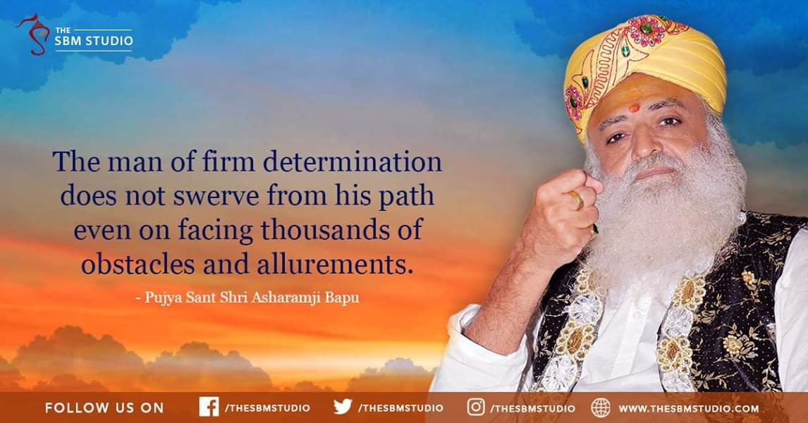"""@kimpetras """"A capable and confident man with a strong desire to accomplish something great, can do anything in life.""""           - Sant Shri Asaram Bapu Ji https://t.co/ORTjp8Tg19 https://t.co/WqERooYJIc"""
