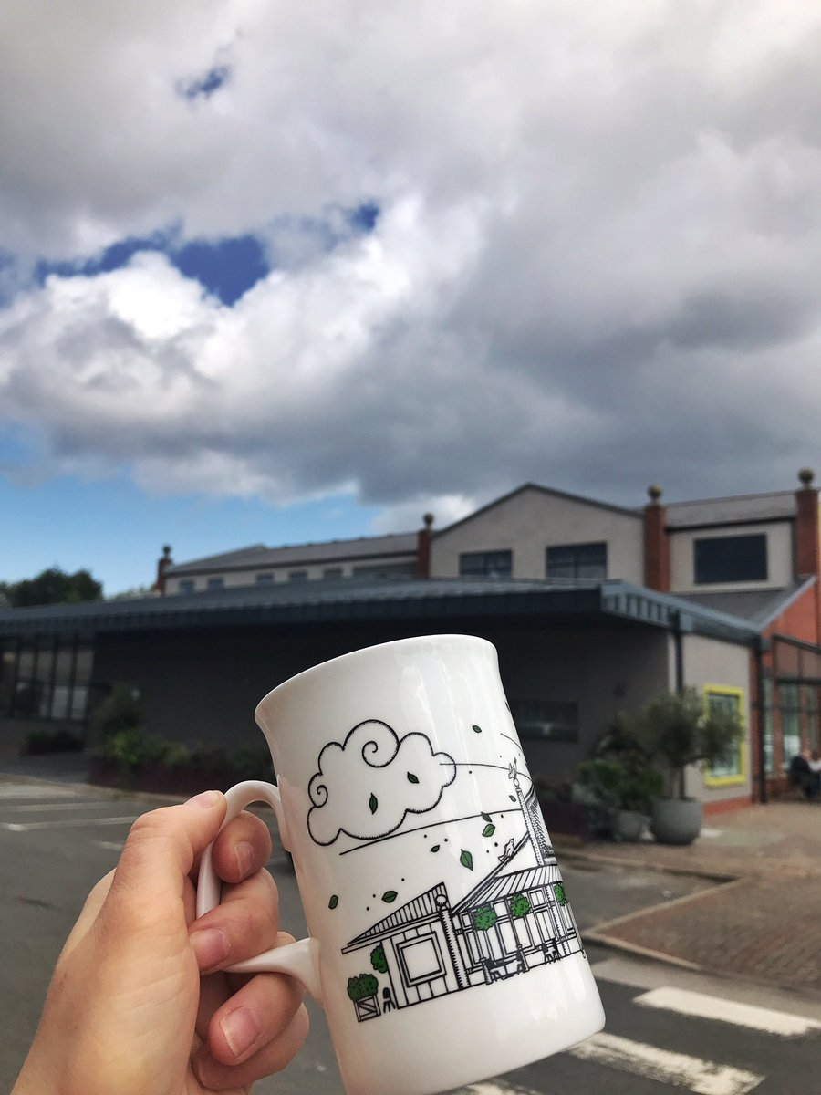 Happy Saturday vibes down at Dockside... there may be some clouds in the sky but at least our brand new restaurant (feat. On our gorgeous @kathcaldwell mugs) is VERY NEARLY complete!😍😍😍😍 Keep your eyes peeled for our opening date💜