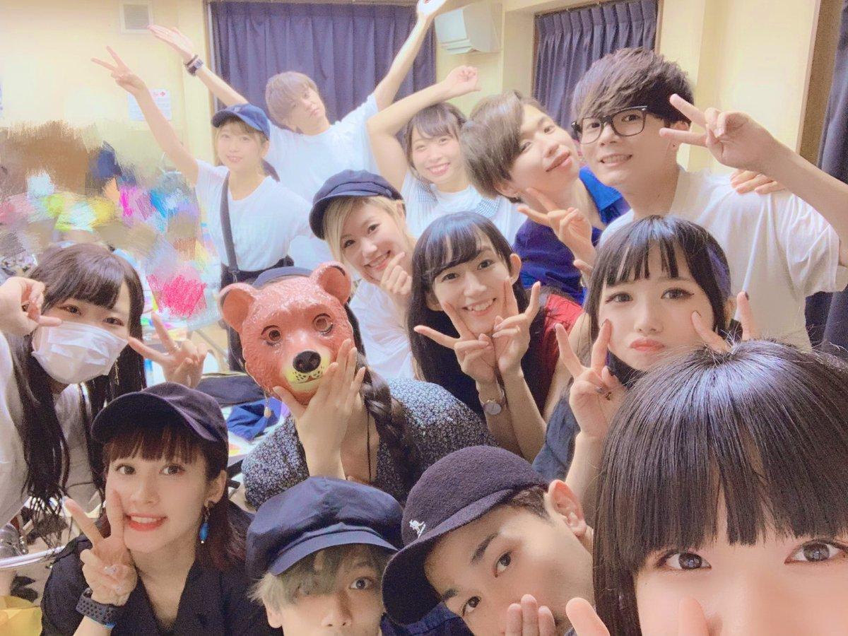 ニコこれ福岡ありがとうございました〜😊😄😆💕初めての方が来てくれたり!!いつも来てくれる人も!!とても嬉しかったです(*♡﹃ ♡*)また福岡で踊りたいなぁ😳写真はみんなと!!全員集合♡すごい!!!楽しかったです!!!