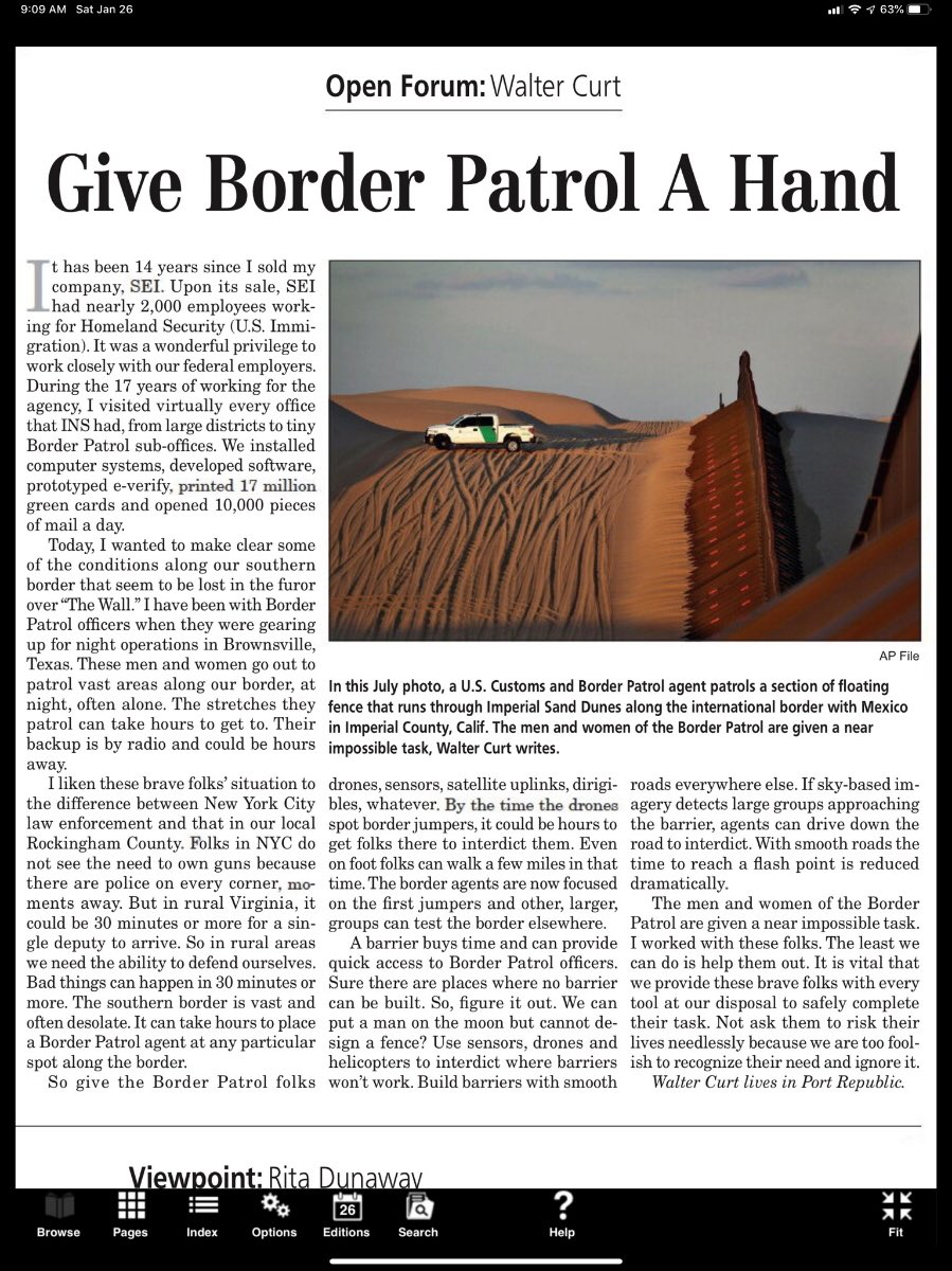 A friend who has many years experience in immigration work points out what a challenging job @CBP Agents have. Dangerous and remote. With unique challenges and unique skills. We should all be grateful for their service.<br>http://pic.twitter.com/svst9Tuq7l