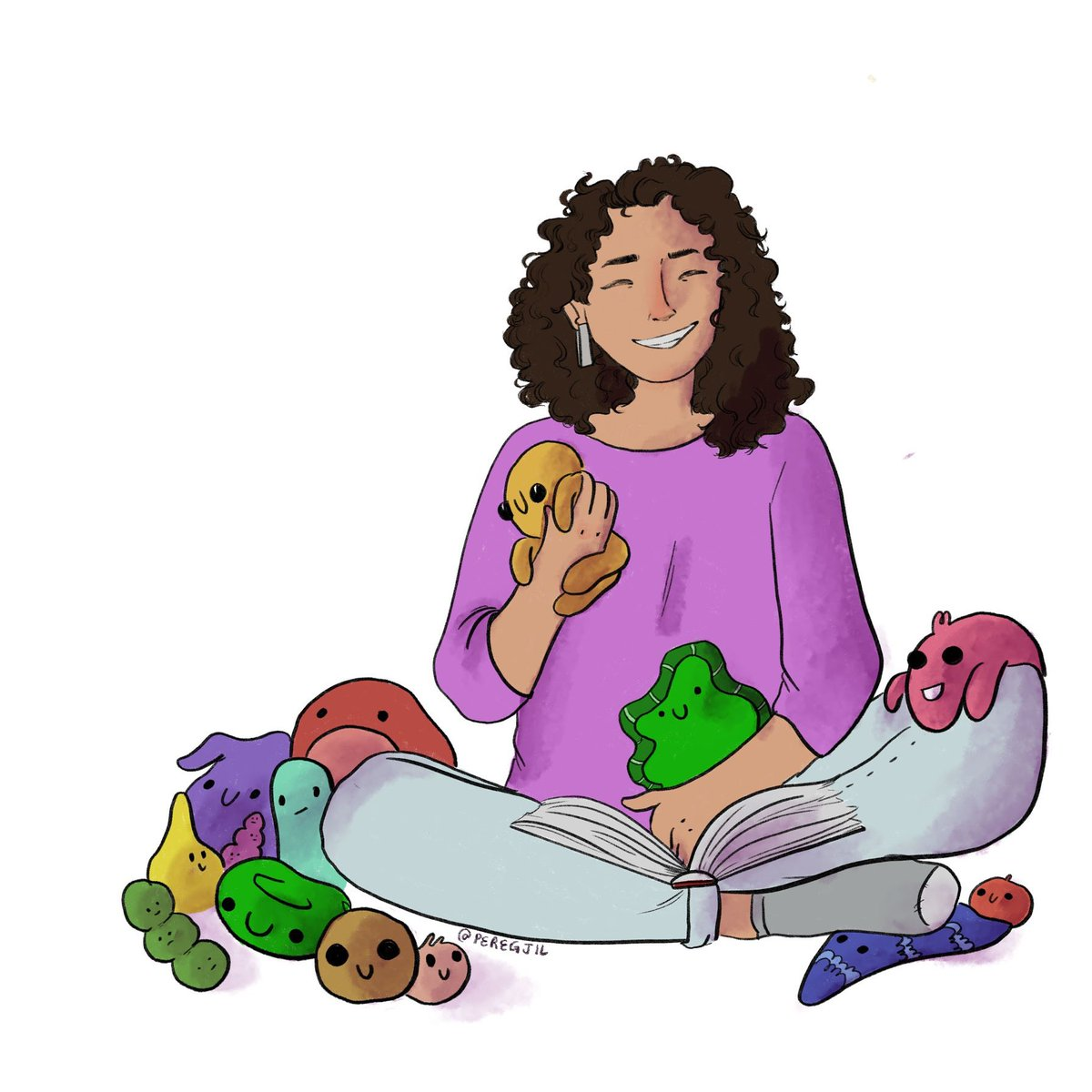 So many new followers this summer! Hi!! I am Ana, I'm from Colombia and I have a PhD in Biomedical Engineering. I am trained in tissue engineering and used to study  valves and now @CornellFellows I study the human gut microbiome. #LatinainSTEM 1/n Illustration by: @peregjil <br>http://pic.twitter.com/Eeq3waRPf3