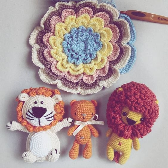 Product Crochet Lion King Amigurumi | DirectToConsumer.org | 564x564