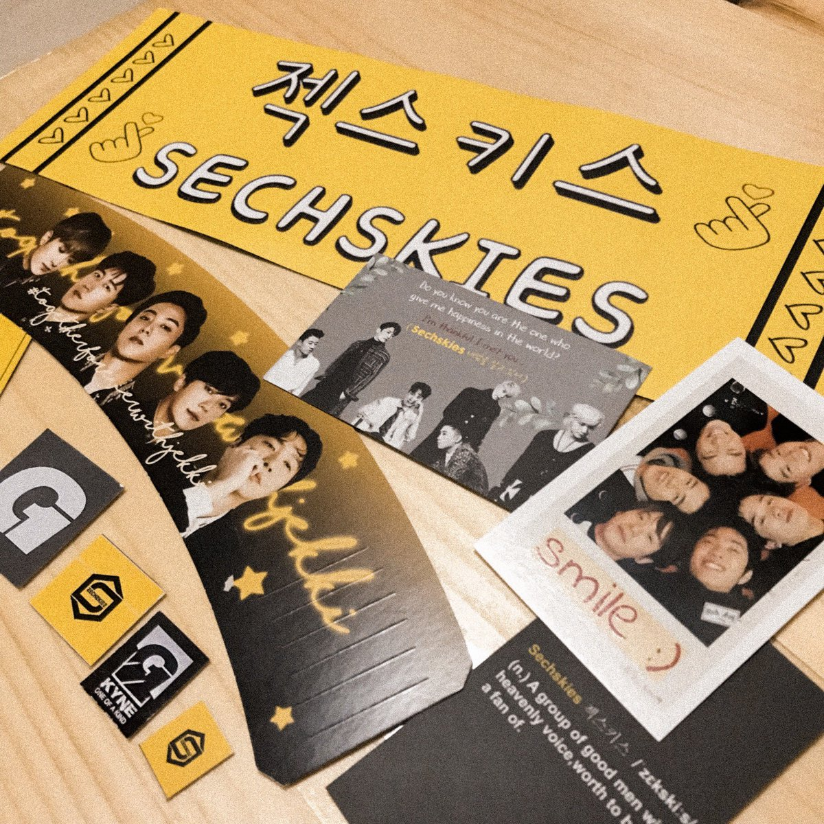 Thank you @6kies_my ! Proud #Yellkies 💛#TogetherForeverWithJekki#DearLoveLeaMak#SechskiesMalaysia#SECHSKIES