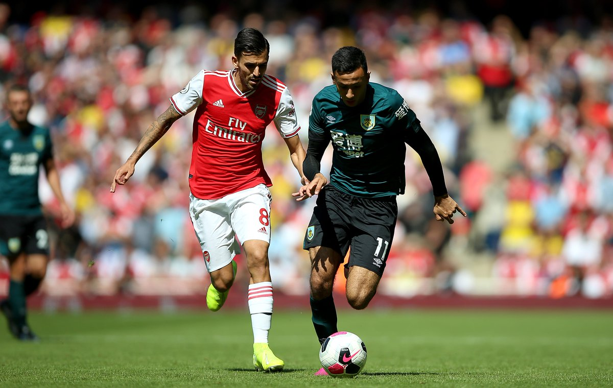 Dani Ceballos for Arsenal vs. Burnley: •Most touches •Most passes •Most passes in the opp. half •Most chances created •Most recoveries •Most fouls won •Most assists •Most duels • =Most tackles •=Most take-ons •=Most shots Involved in everything.