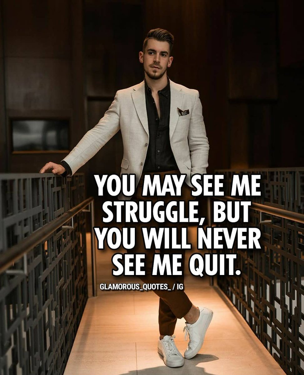 YOU MAY SEE ME STRUGGLE,BUT YOU WILL NEVER SEE ME QUIT.#quit #never #struggle #seeme #may#entrepreneurmotivation #successfoundation#millionairestatus#millionairemind#entrepreneurship101#entrepreneurquote#successquotes <br>http://pic.twitter.com/nBkEwjFd6l