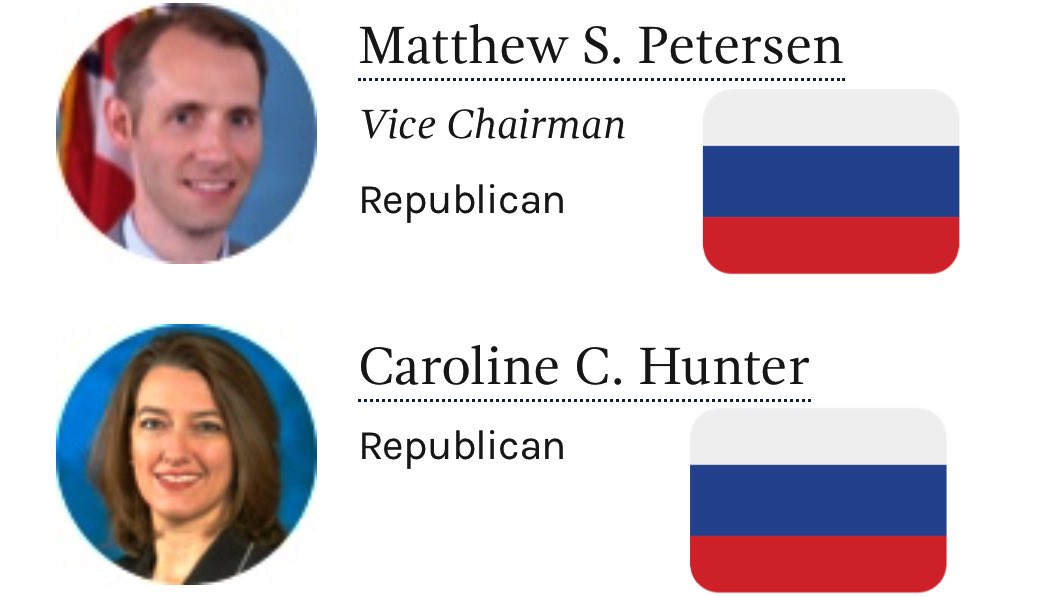 CALL TO ACTION #DC  FEC won't act on NRA/Russia election contribution connection because GOP members  Matthew Petersen Caroline Hunter  Are blocking process  08/22/19 @ 10am 1050 First Street, NE  Washington, DC 20463  Tell them we demand action #SaturdayMotivation <br>http://pic.twitter.com/D6nDUJkyAK